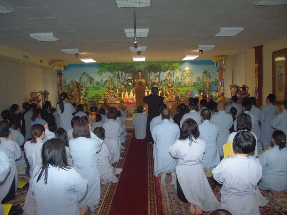 Lễ an vị Phật tại chùa Vĩnh Nghiêm (tp.Nürnberg - Germany)